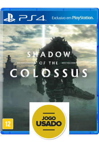 Shadow Of The Colossus - PS4 (Usado)