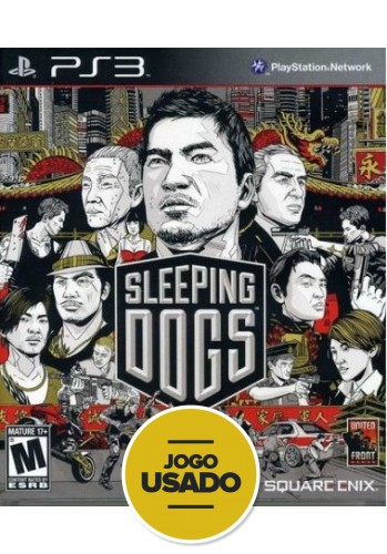 Sleeping Dogs (seminovo) - PS3