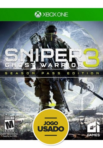 Sniper 3: Ghost Warrior - Xbox One ( Usado )