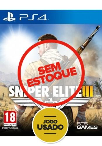 Sniper Elite 3 - PS4 (Usado)