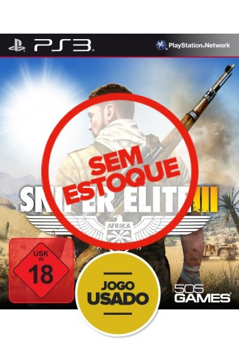 Sniper Elite 3 (seminovo) - PS3