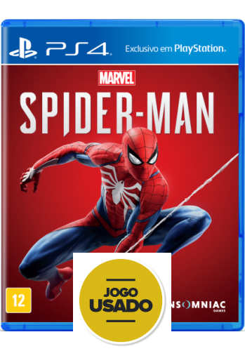 Spider-Man - PS4 (Usado)