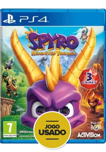 Spyro Reignited Trilogy - PS4 (Usado)