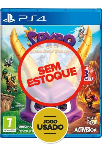 Spyro Reignited Trilogy - PS4 (Usado)