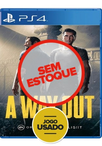 A Way Out - PS4 (Usado)