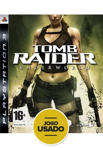 Tomb Raider Underworld - PS3 ( Usado )