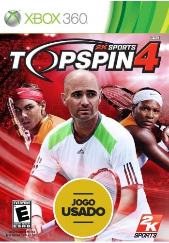 Top Spin 4 - Xbox 360 (Usado)