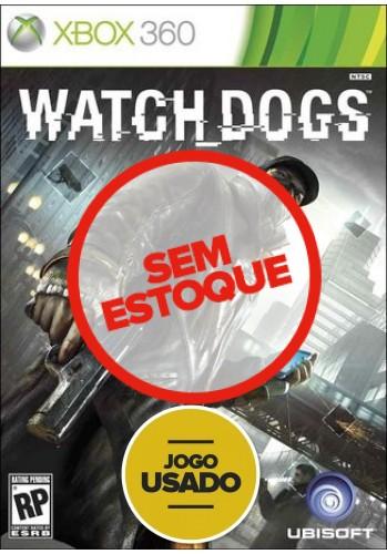 Watch Dogs (seminovo) - Xbox 360