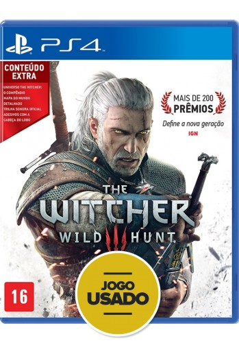The Witcher 3: Wild Hunt -  PS4 (  Usado )
