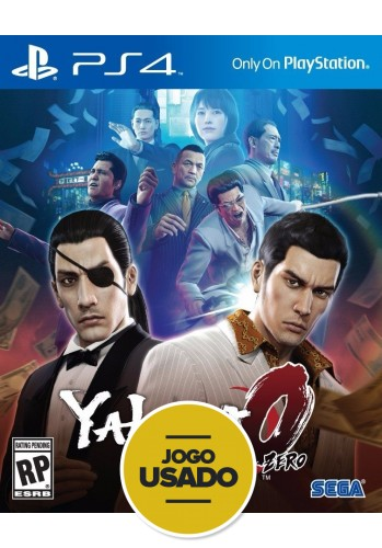 Yakuza 0 Zero - PS4 (USADO)