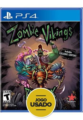 Zombie Vikings Ragnarok Edition - PS4 (USADO)