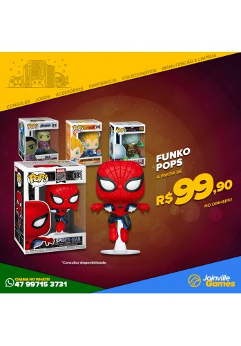 Boneco Funko POP - Diversos modelos (Chama no whats (47) 99715-3731