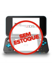 New Nintendo 2DS XL - Azul e Preto