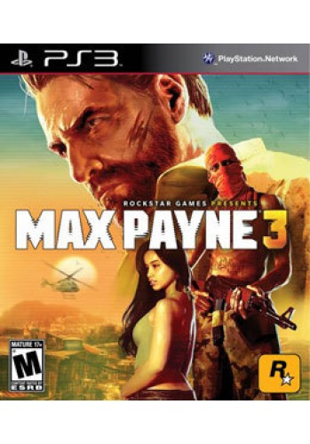 Max Payne 3 (seminovo) - PS3