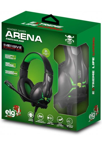 Headset ELG Arena - (PS4, XBOX ONE e PC)