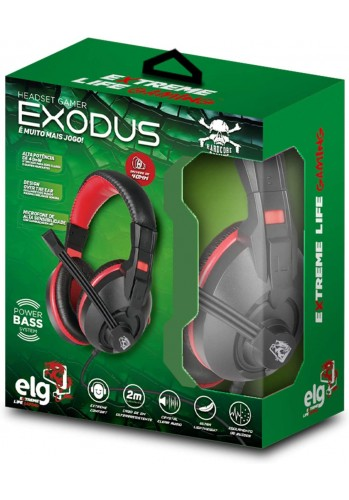 Headset ELG Exodus - (PS4, XBOX ONE e PC)