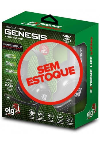 Headset ELG Genesis - (PS4, XBOX ONE e PC)