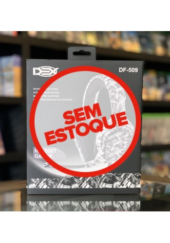 Headset DEX DF509 - (PS4, XBOX ONE e CELULAR)