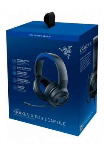 Headset Razer Kraken X - (PS4, XBOX ONE e PC)