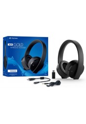 Headset Gold: Stereo 7.1 Wireless - Sony (PS4, PS VR)