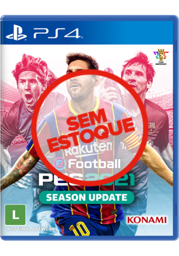 PES 2021: Pro Evolution Soccer - PS4