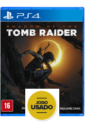 Shadow of the Tomb Raider - PS4 (Usado)