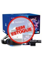 Playstation VR + Camera + Wordls - PS4 - Versão 2