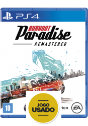 Burnout Paradise Remastered - PS4 (Usado)