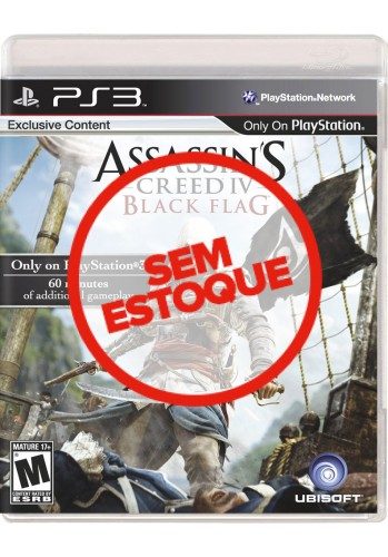 Assassins Creed 4: Black Flag - PS3