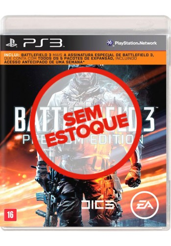 Battlefield 3 (Premium Edition) - PS3