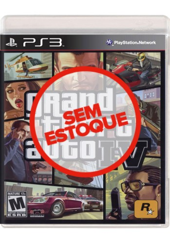 GTA IV (Grand Theft Auto) - PS3