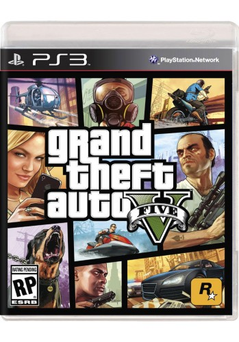 GTA V (Grand Theft Auto) - PS3