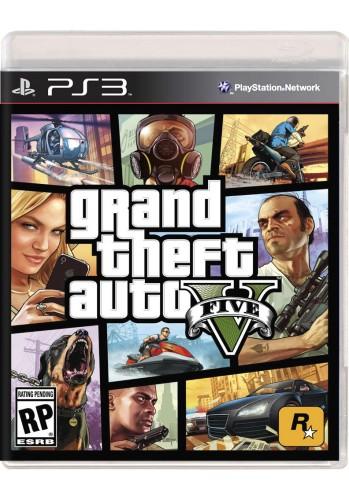 GTA V: Grand Theft Auto - PS3 (Jogo Novo)