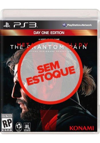Metal Gear Solid V: The Phantom Pain - PS3