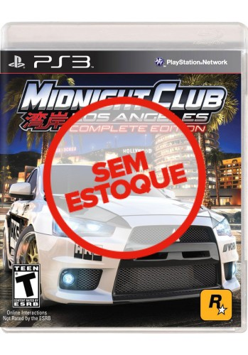 Midnight Club: Los Angeles (Complete Edition) - PS3