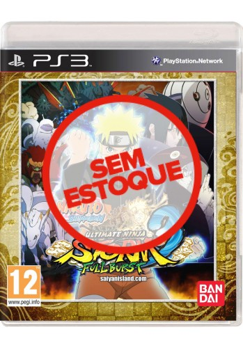 Naruto Shippuden: Ultimate Ninja Storm 3 Full Burst - PS3