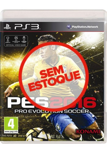 PES 2016 (Pro Evolution Soccer) - PS3