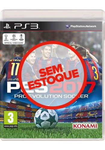 PES 2017 (Pro Evolution Soccer) - PS3