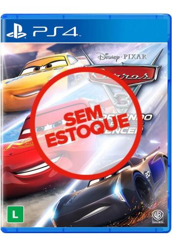 Carros 3: Correndo para Vencer - PS4