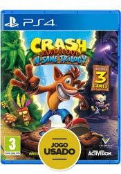 Crash Bandicoot N-Sane Trilogy - PS4 ( Usado )