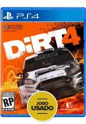 Dirt 4 - PS4 ( Usado )
