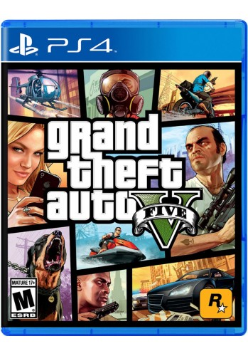 GTA V: Grand Theft Auto - PS4