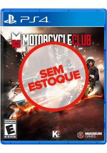 Motorcycle Club - PS4