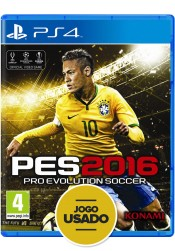 PES 2016: Pro Evolution Soccer - PS4 ( Usado )