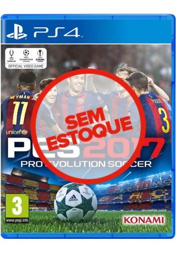 PES 2017: Pro Evolution Soccer - PS4