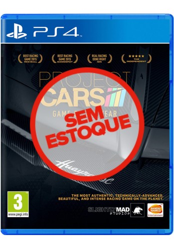 Project Cars: Complete Edition - PS4