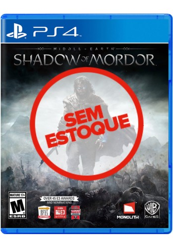 Terra-Média: Sombras de Mordor (Shadow of Mordor - Game of the Year Edition) - PS4