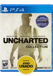 Uncharted: The Nathan Drake Collection - PS4 ( Usado )