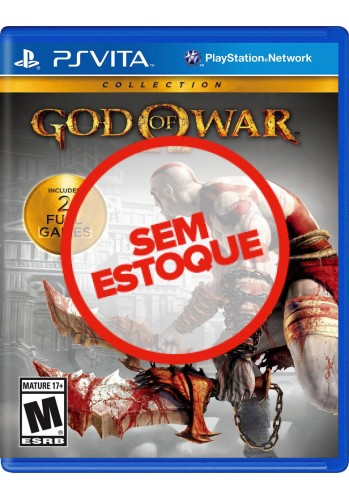 God of War Collection: 1 e 2 - PS VITA