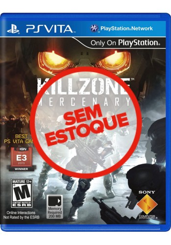 Killzone: Mercenary - PS VITA